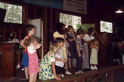 Kids count at Douglas Camp Meeting